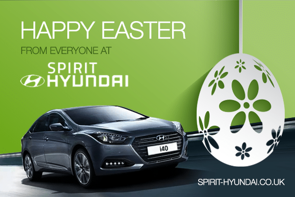 Easter campaign for car dealer